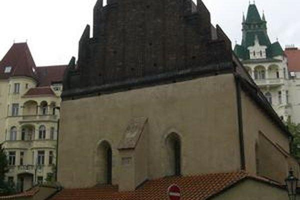 Staronová synagóga v Prahe. Je to najstaršia dochovaná synagóga v Európe.