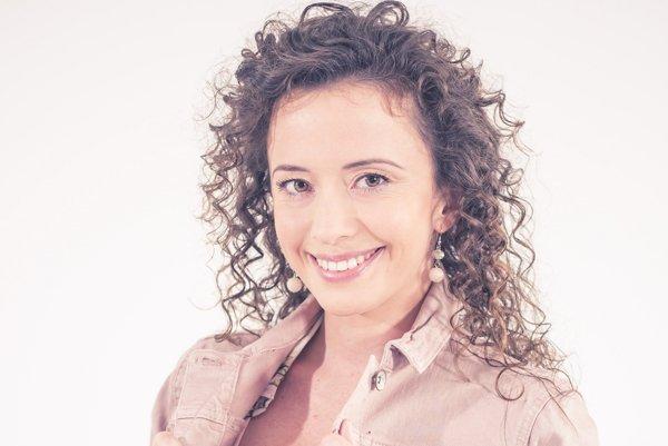 Herečka Kristína Tothová (30).