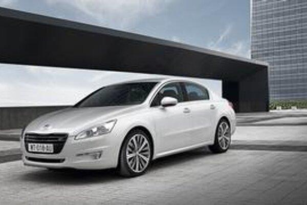 Nový Peugeot 508. Päťstoosmička nahrádza doterajšie modely 407 a 607.
