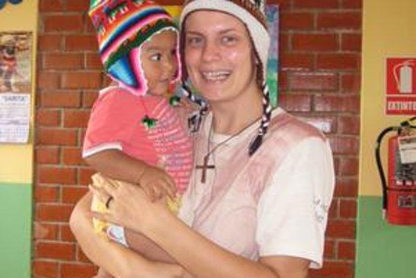 Láska k deťom. Silvia pomáhala tým, ktorí to potrebujú najviac.