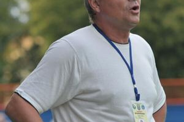 Vlastimil Petržela. MFK Zemplín pod jeho vedením prehral tretíkrát za sebou.