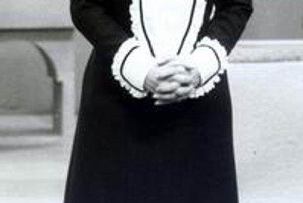 Z muzikálu Mam'zelle Nitouche. Nebyť krutého osudu mohla byť našou vychytenou muzikálovou hviezdou.