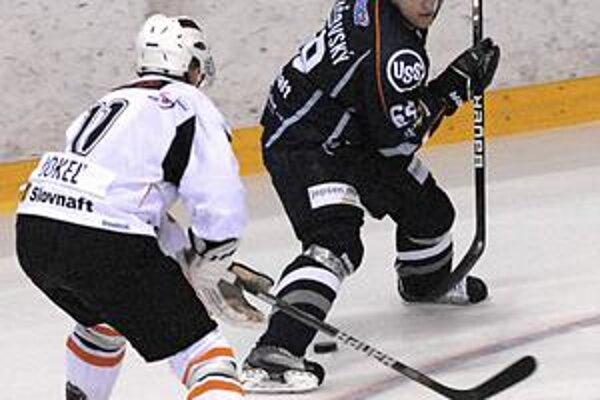 Dušan Andrašovský. Sedem zápasov vynechal, ale v piatok by už rád nastúpil.
