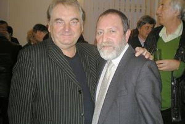 Priatelia. Petra Stašáka spájajú s oslávencom Andym Gore aj rodinné väzby.