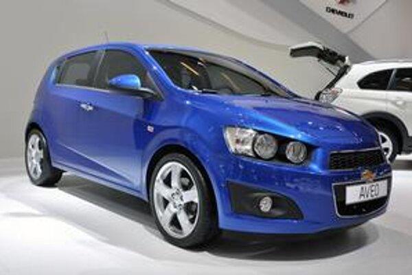 Chevrolet Aveo. Na americkom, kandskom a mexickom trhu sa tento model bude nazývať Sonic.