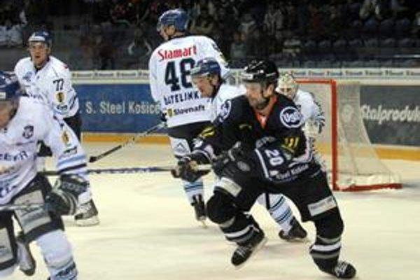 Legionár. Útočník Marek Vorel čaká na gól od novembra 2009.