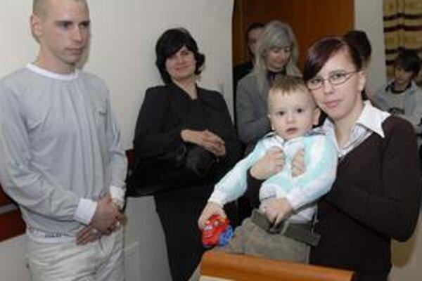 Súrodenci. Martin a Silvia, tá už je mamou dvojročného Patrika.