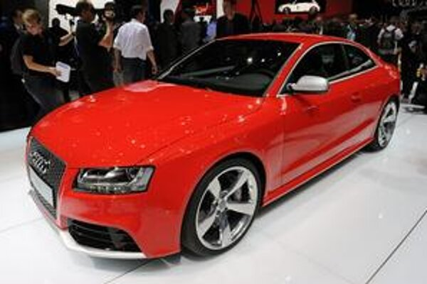 Športové kupé Audi RS 5 malo svetovú premiéru na ženevskom autosalóne