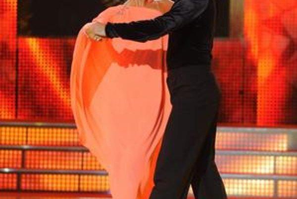 Posledný tanec. Simona sa s Let's dance rozlúčila vášnivou rumbou.