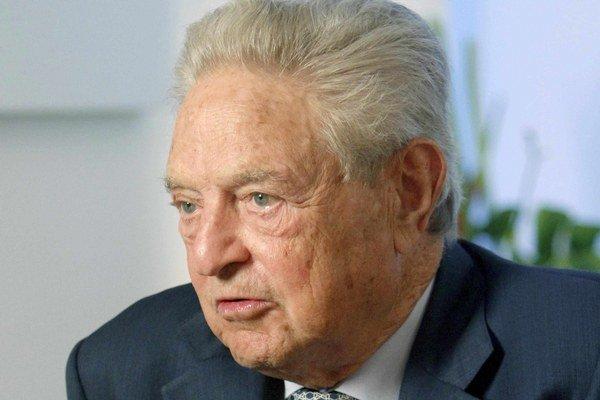Americký miliardár maďarského pôvodu George Soros.