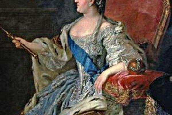 Katarína II. Ruská cárovná, ktorá ako 14-ročná ambiciózna, inteligentná princezná prišla do Ruska, aby sa vydala za budúceho cára.