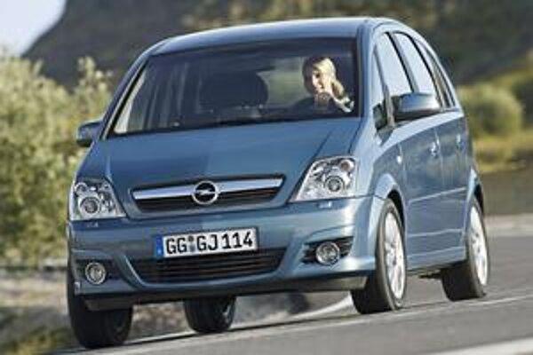 Minivan Opel Meriva. Na budúci rok príde na trh nová generácia Merivy