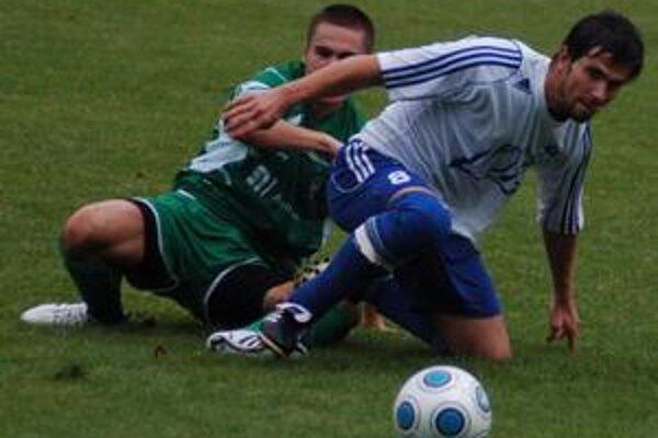 Bojovali. Proti juniorom Prešova spišskonovoveskí futbalisti bojovali, ale vtomto súboji im asi nebolo súdené streliť gól, resp. bodovať.