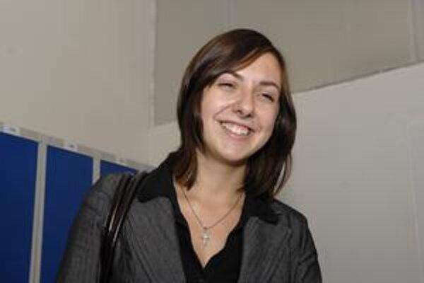 Lenka Kokardová. Víťazka súťaže Líder roka 2009.