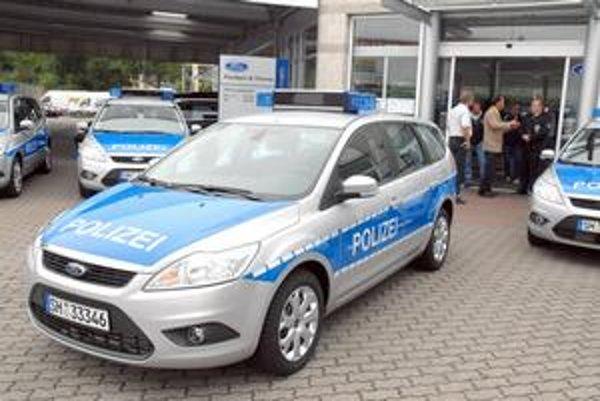 Policajný Ford Focus. Nové policajné fordy Šlezvicka-Holštajnska sú vystrojené prevodovkami z Kechneca