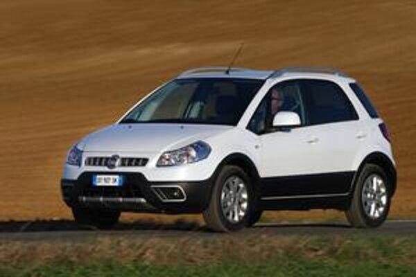 Modernizovaný Fiat Sedici. Na pohon slúži aj nový dvojlitrový turbodieselový motor výkonu 99 kW.