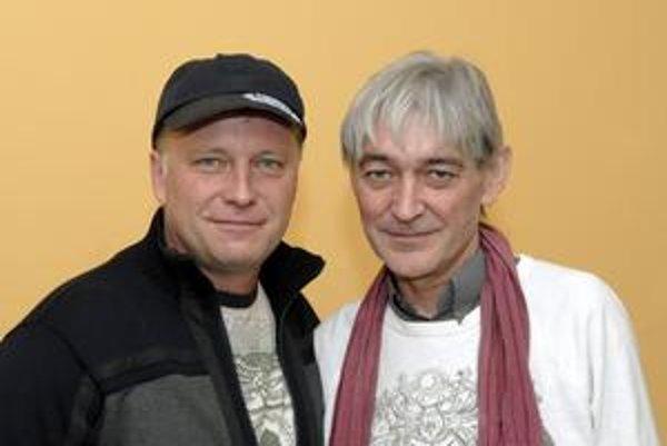 Michal (vľavo) je v rozhovoroch otvorenejší, Vladimír si svoje súkromie prísne stráži.