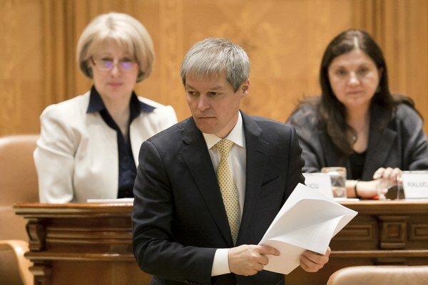 Rumunský premiér Dacian Ciolos.