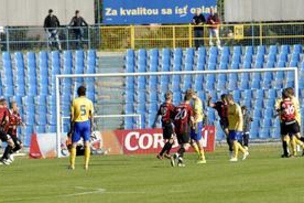 Rýchly gól. Trnavčania viedli v Košiciach po premenenej penalte už od prvej minúty.