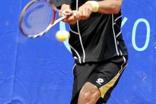 Martin Kližan. Včera bol vo dvojhre len jeden trojsetový zápas. Slovákovi nakoniec ušlo semifinále.