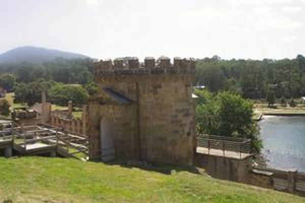 Strážna veža, ktorú postavili v roku 1835.