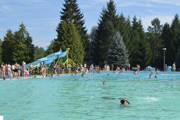 Aquaruthenia. Deväť bazénov ponúka kopec alternatív na zábavu ašantenie.