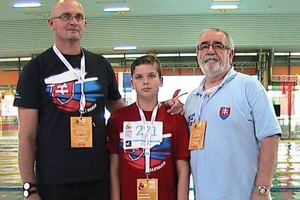 Úspešný bol aj vPrahe. Viktor Verba sotcom Mariánom atrénerom.