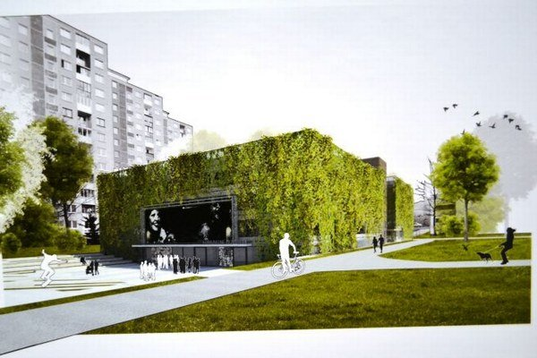 Takto bude vyzerať parkovací dom. Navrhol ho Bratislavčan.