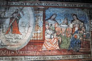 Interiér Kostola sv. Františka z Assisi v Hervartove
