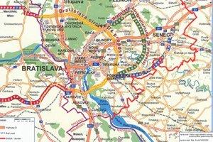 Nultý okruh Bratislavy chcú začať stavať už na jar.