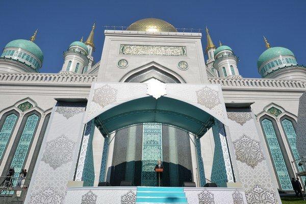 Mešitu otvorili po desiatich rokoch.