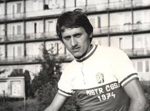 Ján Stejskal - ikona československej cyklistiky.