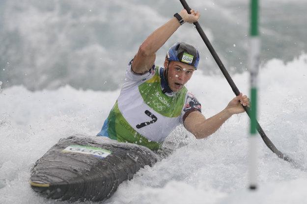 Joseph Clarke zašiel vo finále najrýchlejšiu jazdu.