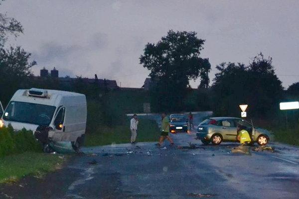 Nehoda vo Fiľakove.