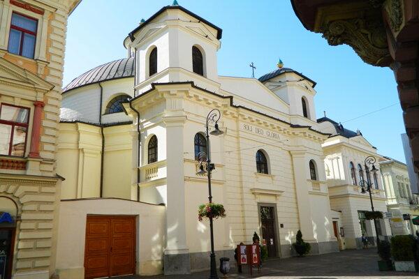 Evanjelický kostol v Košiciach.