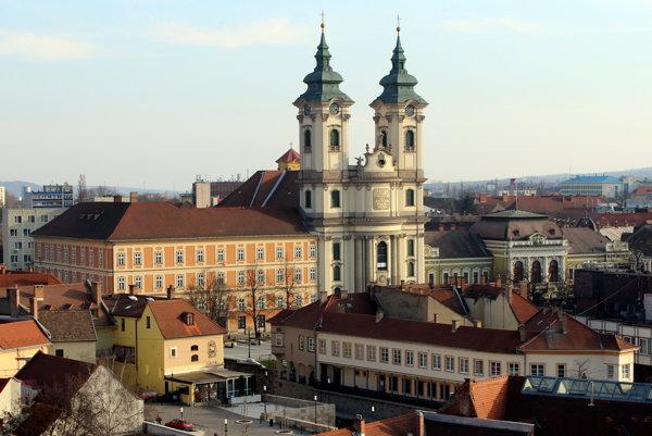 Jáger, minoritsky kostol.