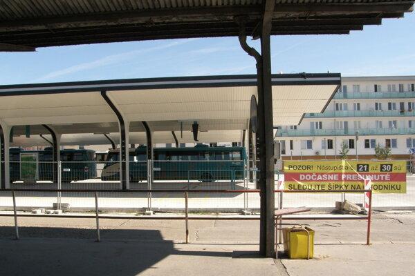 Prvá etapa modernizácie stanice ešte nie je ukončená.