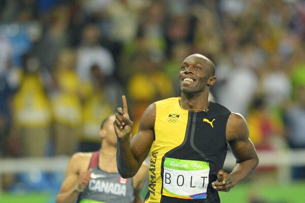 Usain Bolt zostáva najrýchlejším mužom planéty aj po olympiáde v Riu.
