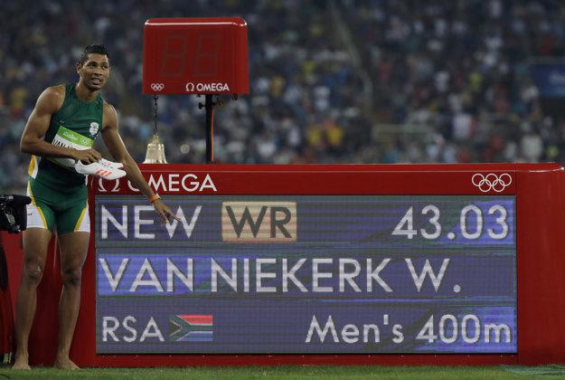 Van Niekerk prepísal dlhoročne najlepší čas histórie priamo v olympijskom finále.