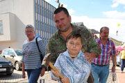 Eugen Čiževský so synom. Ukázali ako na to.