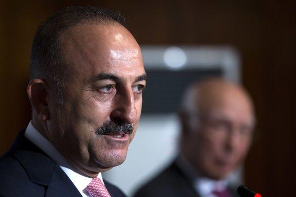Turecký šéf diplomacie Mevlüt Čavušoglu.