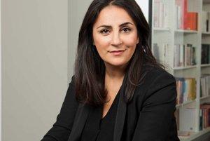 Düzen Tekkalová, aktivistka kurdsko-jezídskeho pôvodu žijúca v Nemecku.