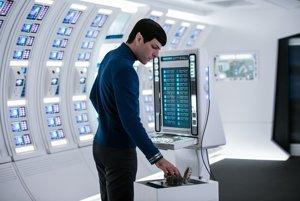 Spock vo filme Stra Trek Beyond.