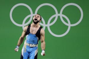 Nijat Rahimov, zlatý olympijský medailista s dopingovou minulosťou.
