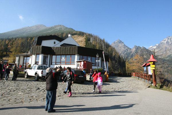 Horský hotel Hrebienok. Už je opäť otvorený.