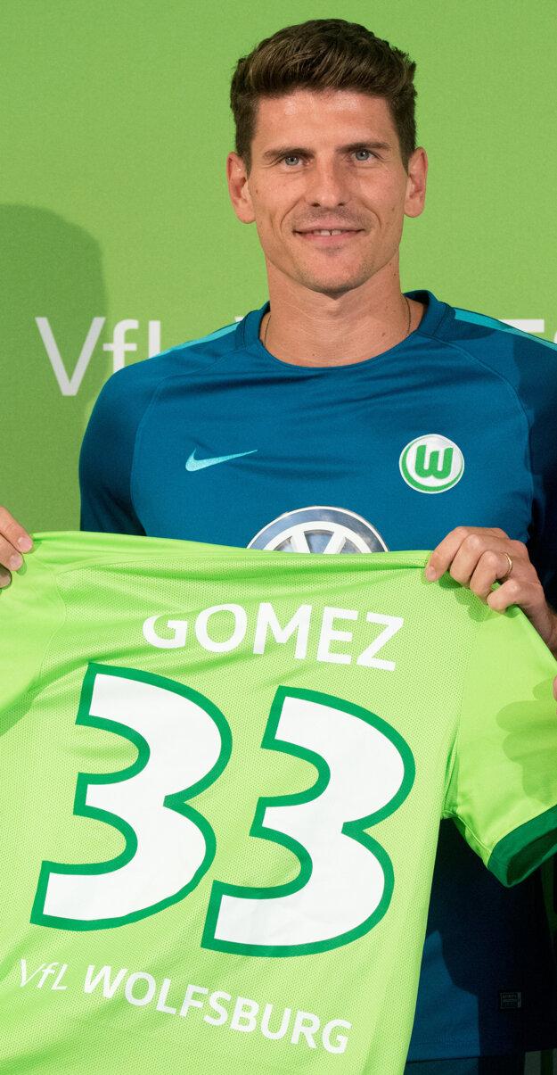 Mario Gomez je novou posilou Wolfsburgu.