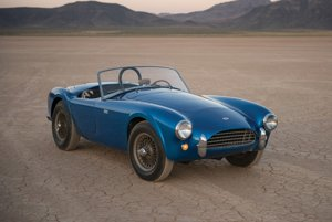 Draží sa úplne prvý exemplár Shelby Cobra.