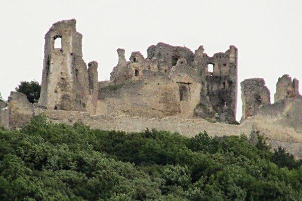 Brekovský hrad dnes.