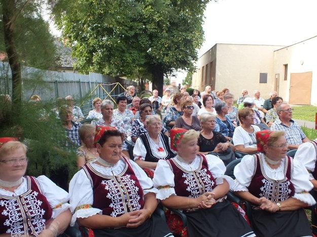 Diváci boli s vystúpením i atmosférou festivalu veľmi spokojní.