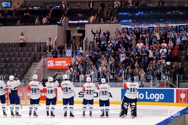 Hokejisti Nitry mali podporu aj v Nórsku. Doma proti Plzni ich bude určite hnať dopredu tradičná kulisa.